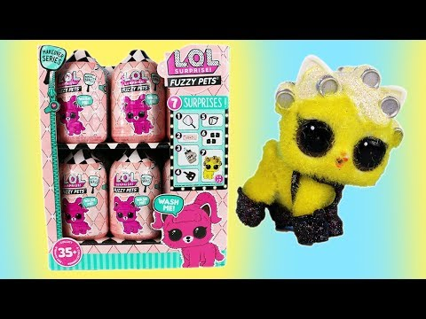 LOL Surprise! Fuzzy Pets Makeover Series What's inside a Full Box!?