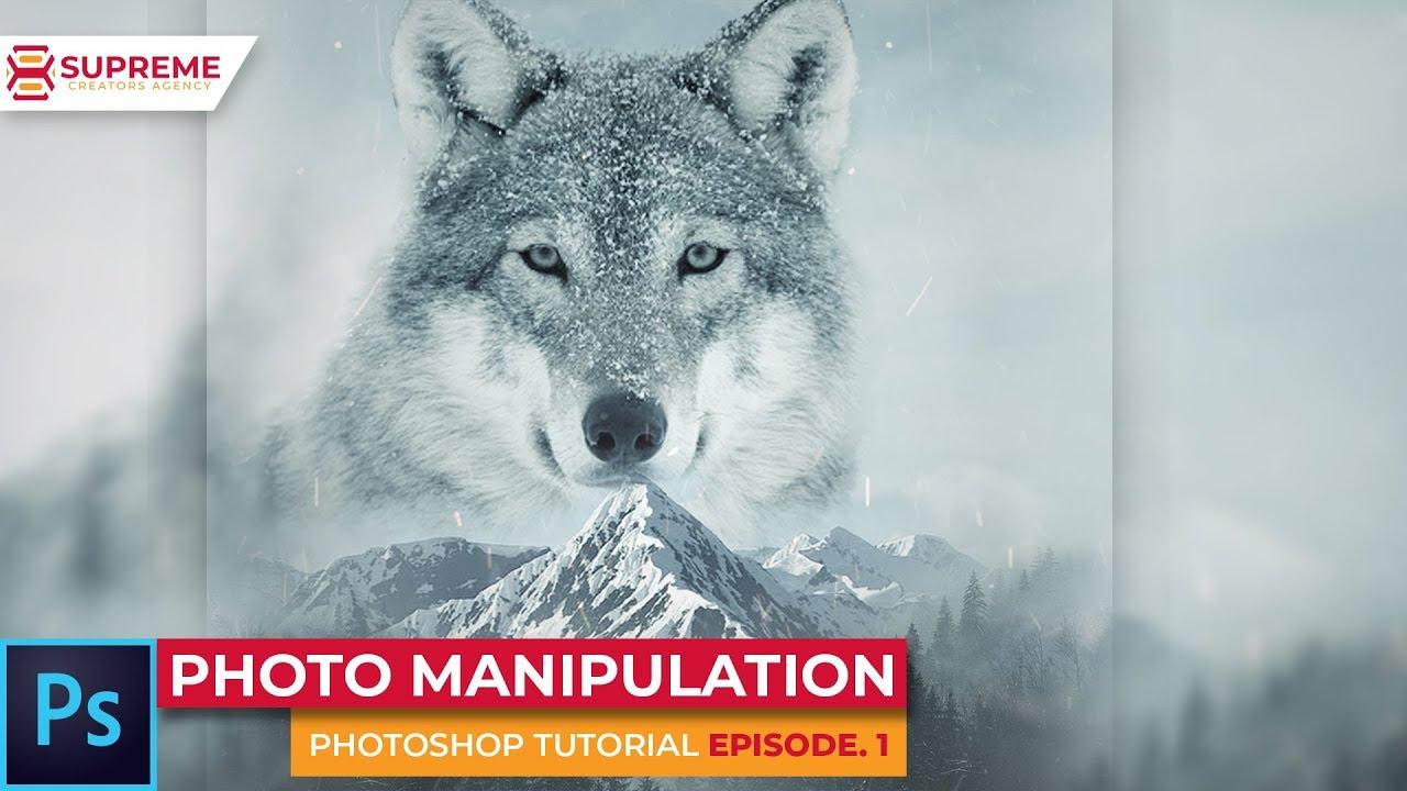 PHOTO MANIPULATION – Photoshop Tutorial ep 1 (Supreme Creators Agency) #PhotoshopTutorial