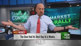 Jim Cramer: Corporate earnings will dictate the stock market's next move