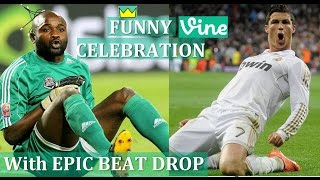 Top Funny Football Goal Celebrations || Best Funny Celebrations in Soccer vines compilation