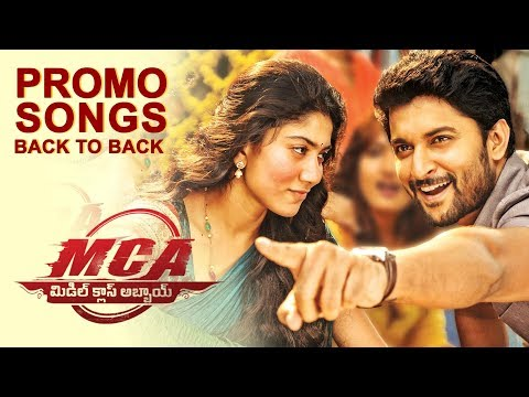 MCA Video Song Promos Back To Back - Nani, Sai Pallavi | DSP , Dil Raju, Sriram Venu