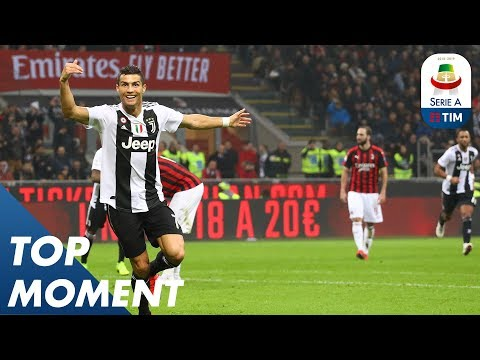 Ronaldo Gets 100th Goal by Juventus at the San Siro | Milan 0-2 Juventus | Top Moment | Serie A