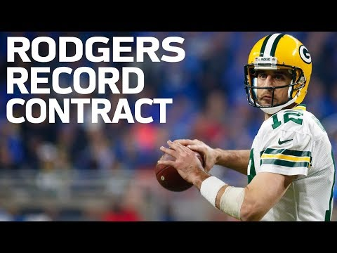 Aaron Rodgers and Packers Agree to Largest Deal in NFL History | NFL