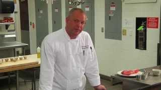 Grilled Coffee Crusted Rib Eye Steak & Lemon Roasted Asparagus Recipe