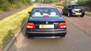 BMW 535I V8 Exhaust!! MUFFLER DELETE! LOUD!!!