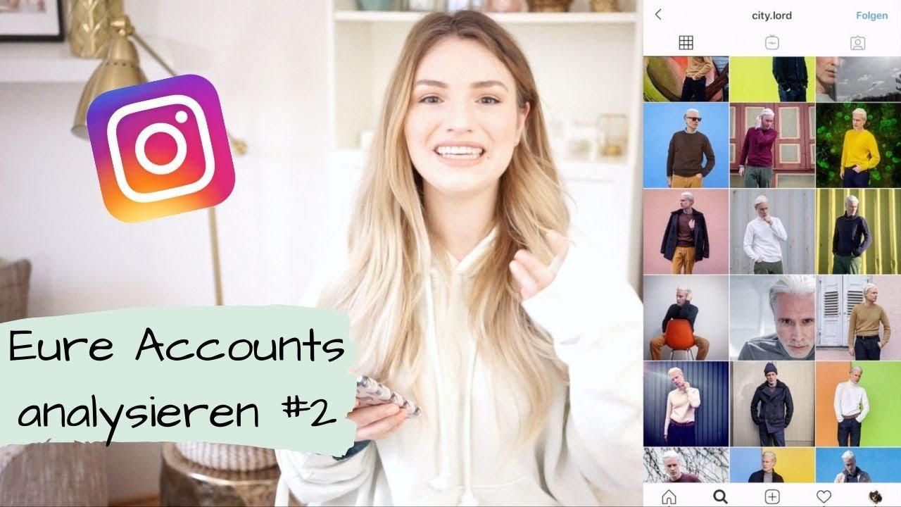 Ich analysiere eure Instagram Accounts #2