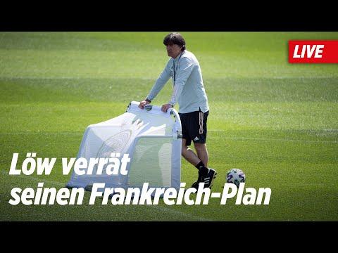 🔴 #EURO2020: DFB-Pressekonferenz Live – So will Jogi Löw Frankreich knacken