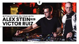 Ritter Butzke on tour w/ Alex Stein b2b Victor Ruiz