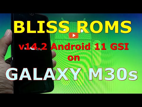 BlissRoms v14.2 Android 11 for Samsung Galaxy M30s - GSI