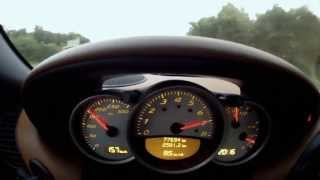 porsche boxster s 986 brutal acceleration sound and top speed 282 km h hd