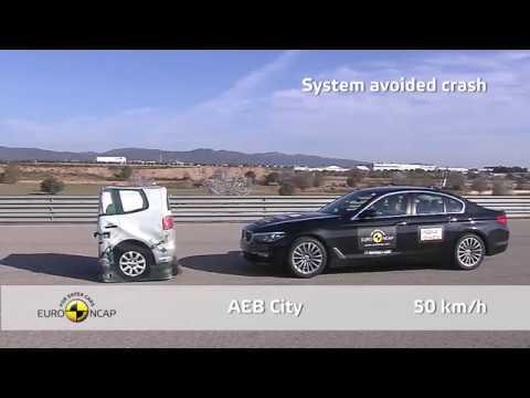 Euro NCAP Crash Test 2017 of BMW 5 Series