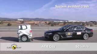 Euro NCAP Crash Test 2017 of BMW 5 Series