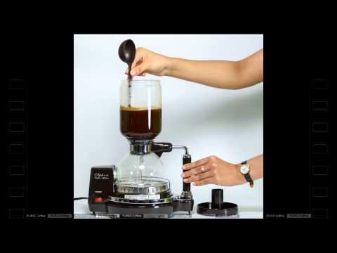 Hướng dẫn cách pha cafe bằng dụng cụ Siphon - PurioCafe
