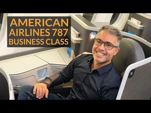 Como é Voar Na AMERICAN AIRLINES - BUSINESS CLASS B787-9 DREAMLINER - De São Paulo A Los Angeles