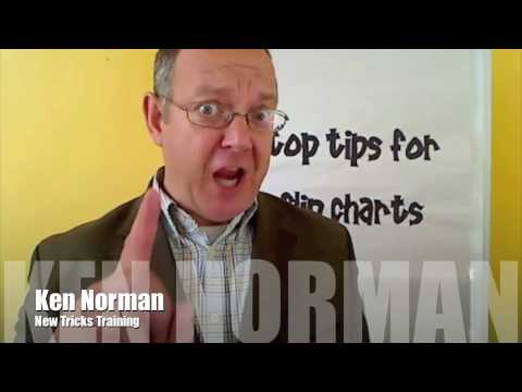 11 tips for using flip charts
