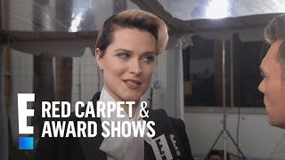 Evan Rachel Wood's Daring Outfit at 2017 Globes | E! Red Carpet & Award Shows Video