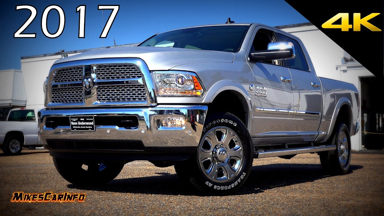 2017 Ram 2500 Laramie Ultimate In Depth Look 4k You