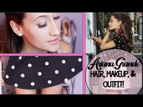 Ariana Grande Hair, Makeup, & Outfit ideas! (Celeb Style) Full hair without Extenstions - 동영상