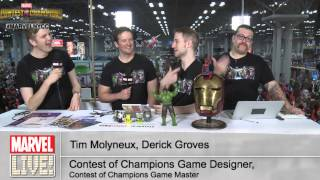 Tim Molyneux and Derick Groves Talk All About Contests of Champions at NYCC 2014