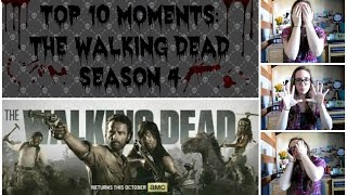 The Top 10 Moments: The Walking Dead-Season 4 (Spoilers) Thumbnail