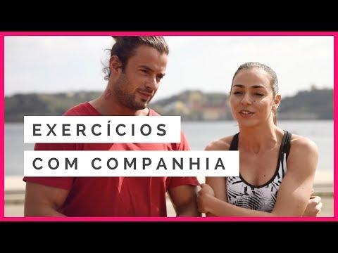 Exercícios com o vosso parceiro/a de treino | Marco Costa e Vanessa Martins