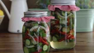 Pickle Recipe - How To Make Refrigerator Pickles