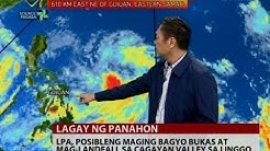 24 Oras: Weather update as of 7:21 p.m. (Oct. 12, 2016)
