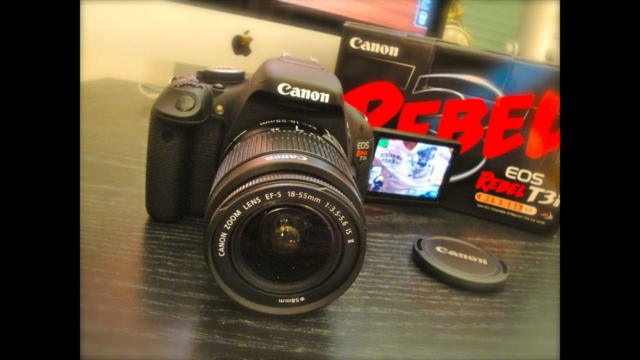 Canon Rebel T3i 600D Kit Unboxing with 18-55mm Lens DSLR ...