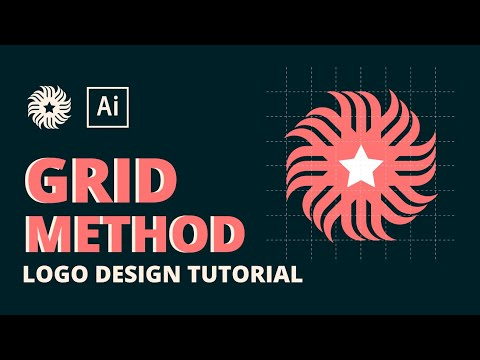 Star Logo Design Tutorial - Using Grid Method thumbnail