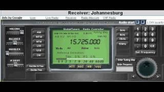 Radio Pakistan - 15725 kHz - Reception in South Africa