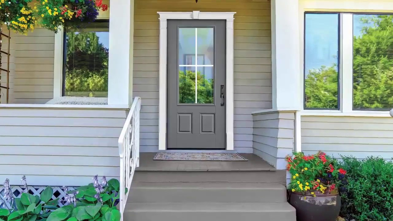 Fypon door surround installation youtube - Decorative exterior door pediments ...