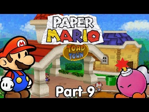 Let's Play Paper Mario - #9. The Old Man and the Plumber
