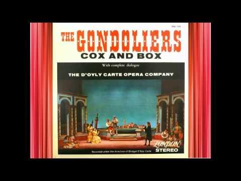 Cox And Box - 'Rataplan' - Burnand & Sullivan.avi
