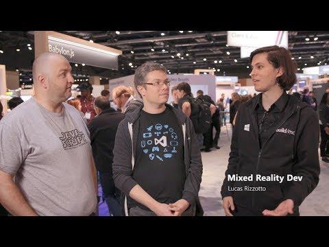 #BuildMC - Q&A with David Rousset & David Catuhe, Microsoft - Mixed Reality Developer
