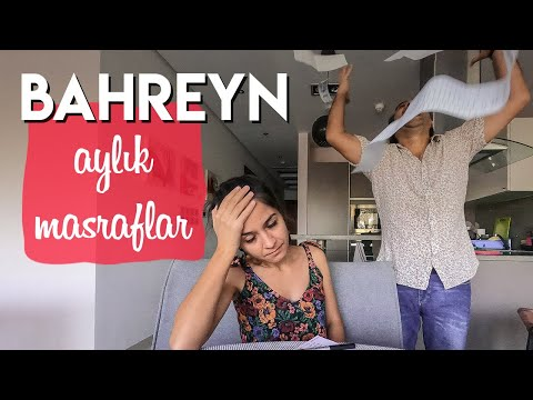 BAHREYN'DE YAŞAM MASRAFLARI VE AYLIK GİDERLER | Bahreyn'de Kaç Para Harcıyoruz?