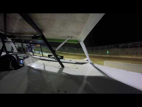 Walker Arthur Princeton Speedway Qualifying In car Fastrak Crate Dirt Late Model 5-27-16