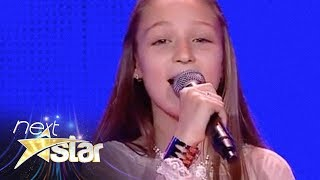 "Francesca Nicolescu - Céline Dion - ""My Heart Will Go On"" - Next Star"