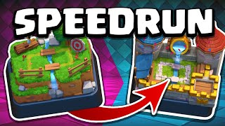 Attempting 5 WORLD RECORDS! | Clash Royale SPEEDRUN (2021)