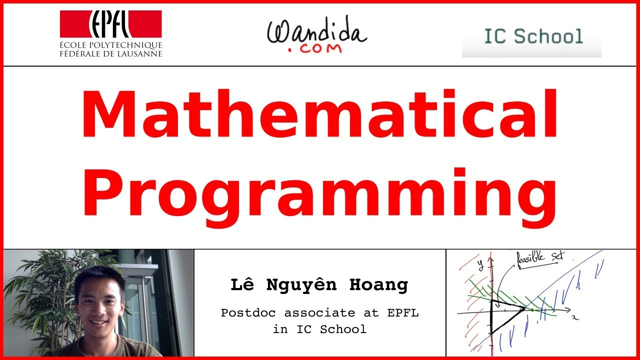 mathematical programming As someone who is passionate about both mathematics and programming languages, i thought i would share what i consider to be 10 great programming languages for mathematics.