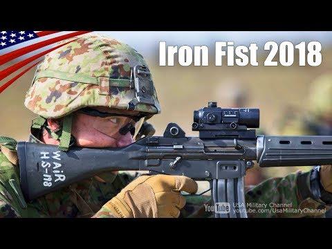 自衛隊の精鋭部隊・西普連(水陸機動団)の渡米演習 アイアンフィスト2018