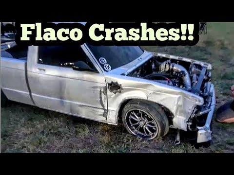Flaco Turbo S10 Crashes at Armageddon 5 No Prep
