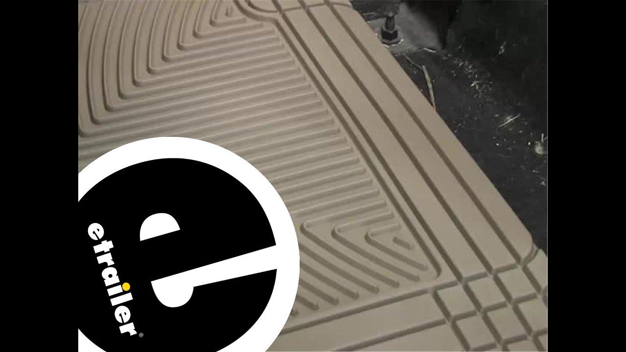 Weathertech floor mats ford explorer - Review Of The Weathertech Rear Floor Mats On A 2008 Ford F 350 Etrailer Com