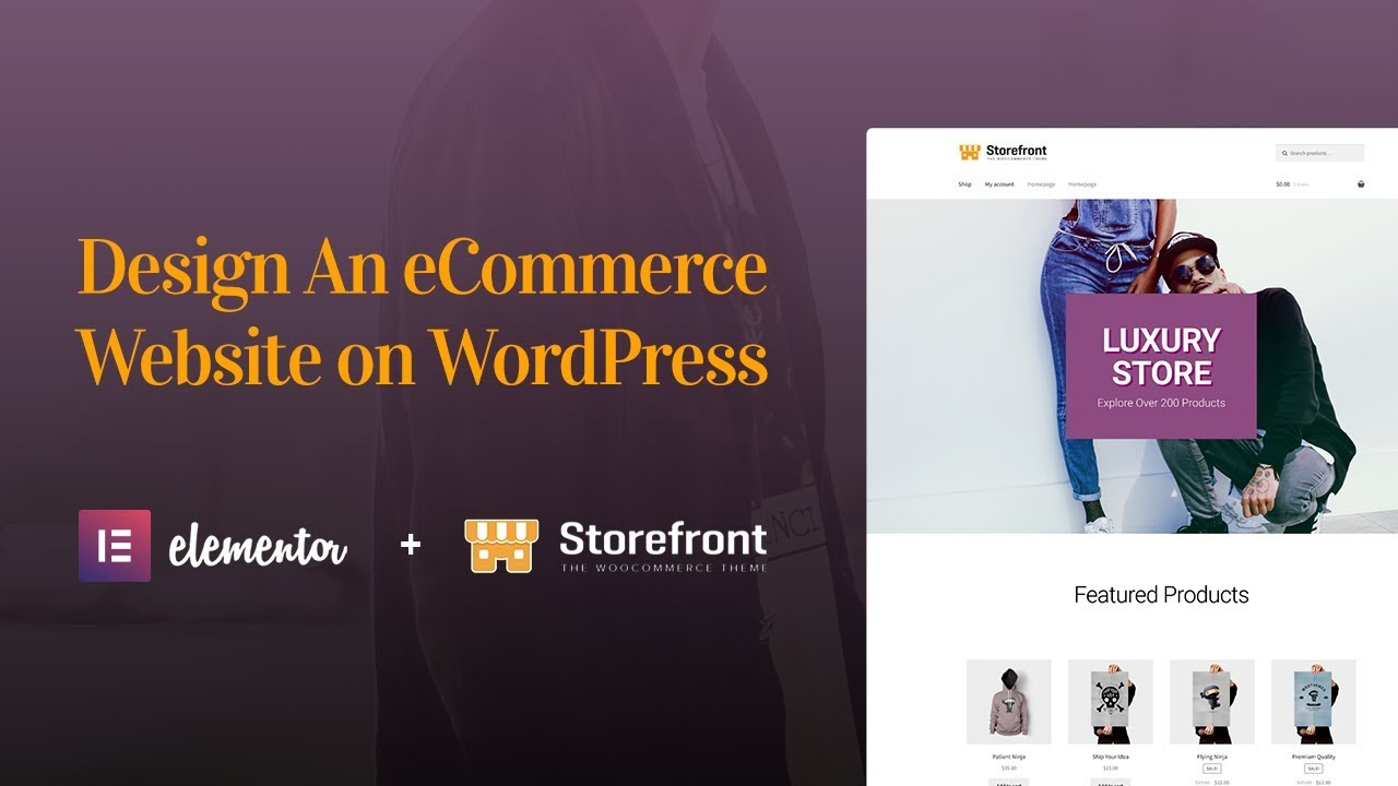 How to Design an eCommerce Website With Elementor, WooCommerce ...