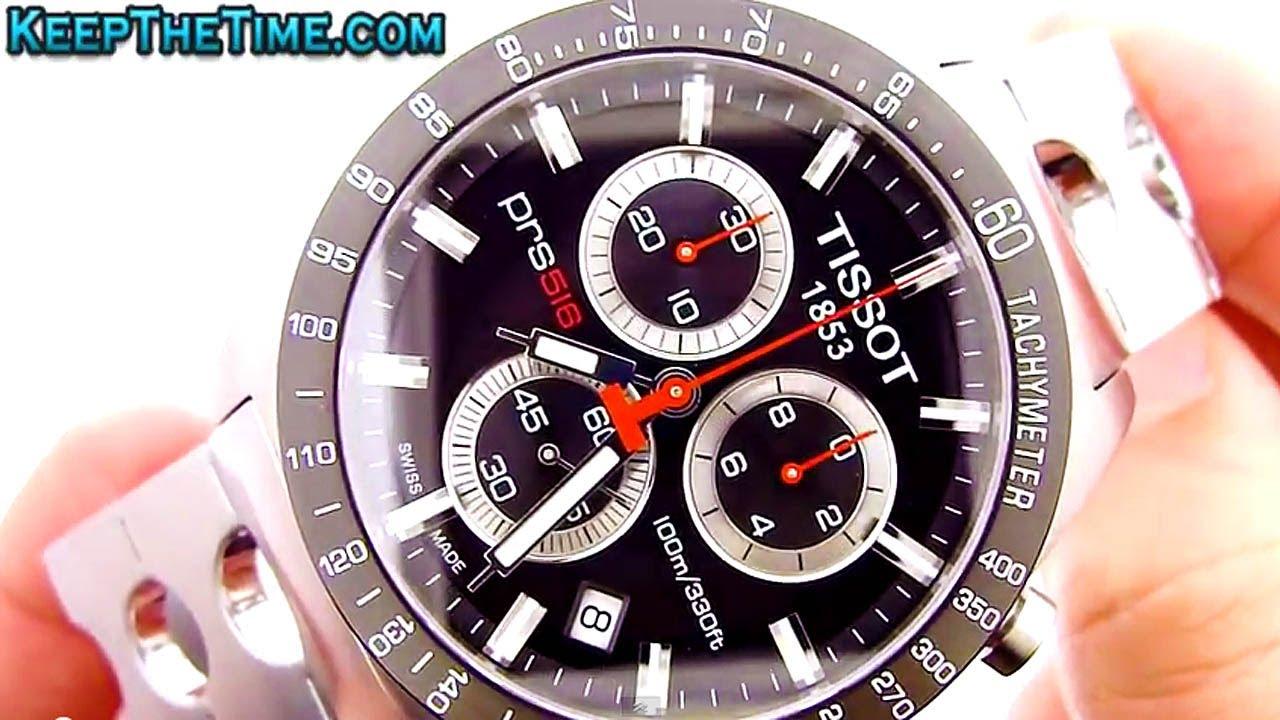 Tissot PRS-516 Chronograph Watch (ETA G10.211)
