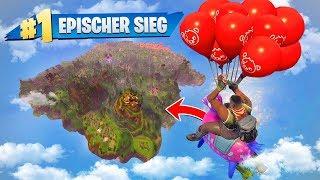 GEWINNEN... aber du darfst nur Ballons benutzen! (Fortnite Challenge)