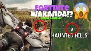 Fortnite - Marvel Wakanda Easter Egg Infinity War