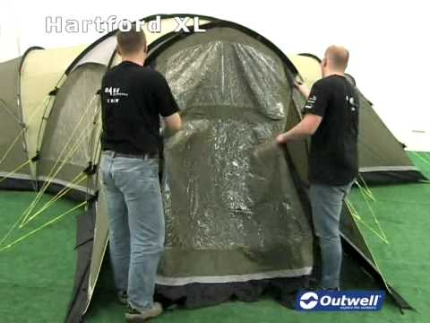Outwell Hartford XL & Outwell Hartford XL - YouTube