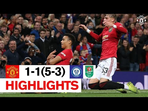 Highlights | Manchester United 1-1 Rochdale | Reds Win 5-3 On Penalties | Carabao Cup