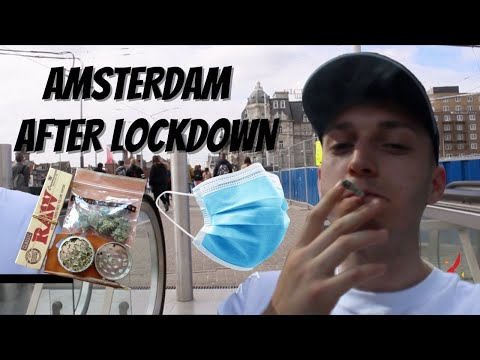 AMSTERDAM VLOG 2020 ~ Post Lockdown Trip