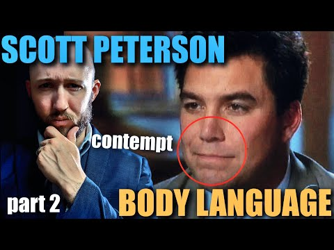 Body Language Analyst REACTS to Scott Peterson's CONTEMPTUOUS Nonverbal Communication   Faces 35